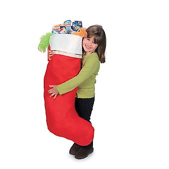 Jumbo fühlte Strumpf - 1,15 m hoch - perfekt für Weihnachtsmorgen