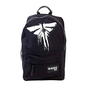 The Last Of Us Backpack Firefly Screen Printed Logo new Official Gamer Black