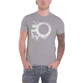 Bauhaus T Shirt The Skys Gone Out Band Logo new Official Mens Grey