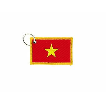 Cle Cles sleutel Brode patch Ecusson badge vlag Vietnamees