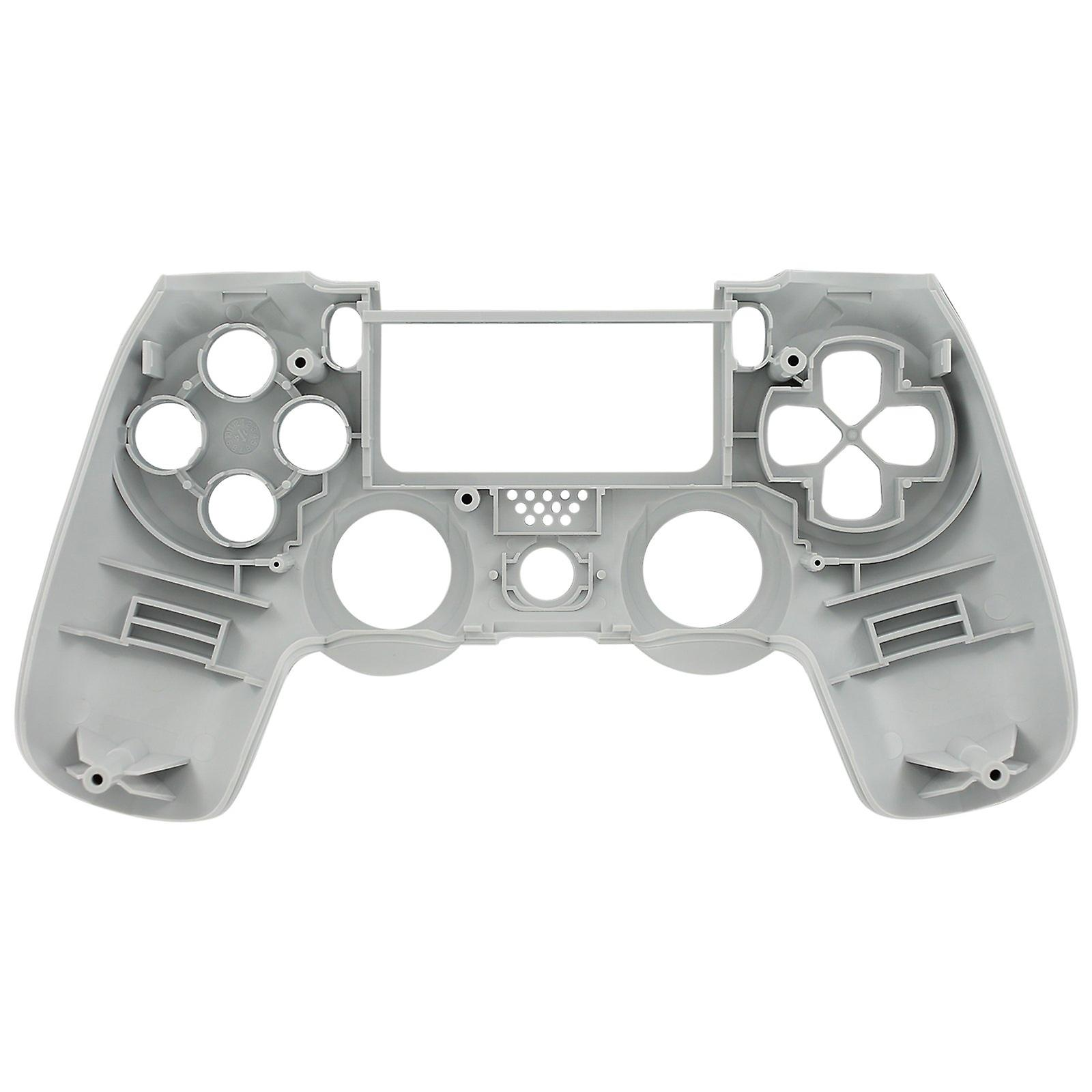 Replacement oem front housing shell face for sony ps4 playstation 4 controllers - white