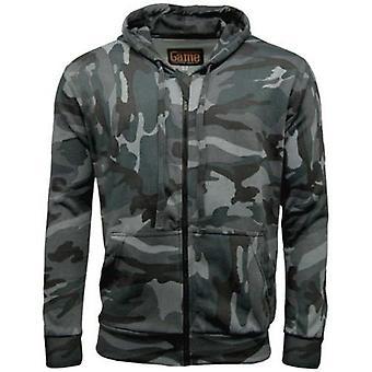 Spel camouflage zip hoodie