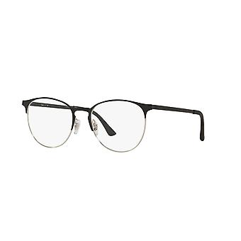 Ray-Ban RB6375 2861 sort-sølv briller