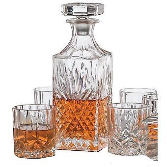 Whisky szett 6 whisky szemüveg + kancsó whiskey