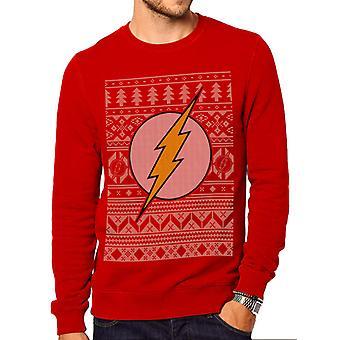 DC Comics The Flash - Fair Isle Sweatshirt Christmas Sweater