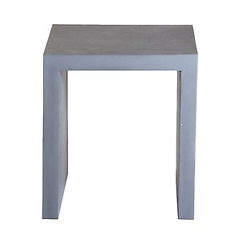 Charles Bentley Fibre Cement Industrial Indoor Outdoor Stool Dining Seating - Grey