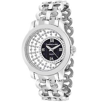 Christian Van Sant Mujeres's Delicado negro MOP Dial Watch - CV4411