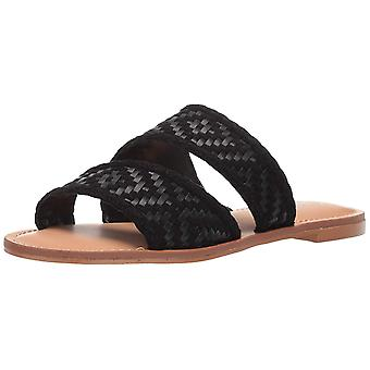 Carlos by Carlos Santana Womens Holly Fabric Open Toe Casual Slide Sandals
