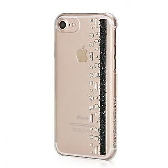 Hull For IPhone 8 / IPhone 7 Hermitage Jet With Swarovski Crystals