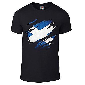 Men ' s Torn Skotlanti t-paita