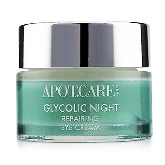 Apot.care Glycolic Night Repairing Night Eye Cream - 15ml/0.5oz