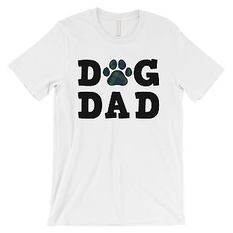 Dog Dad Mens White Super Thoughftul Pet Shirt Gift For All Fathers