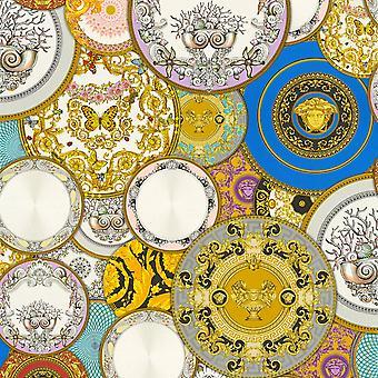 Versace Les Etoiles De la Mer Dish Háttérkép - Multi 34901-1 - 10m x 70cm