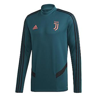 2019-2020 Juventus Adidas Trainingtop (groen)