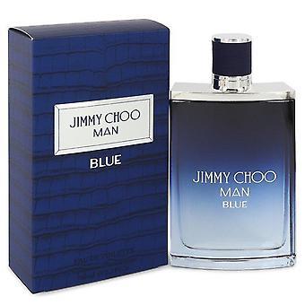 Jimmy choo man blue eau de toilette spray door jimmy choo 542640 100 ml
