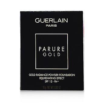 Guerlain Parure kulta nuorentava kulta säteily jauhe säätiö SPF 15 täyttö-# 04 beige Moyen-10g/0.35 oz