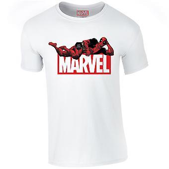 Deadpool Marvel Comics Logo T-Shirt Ufficiale