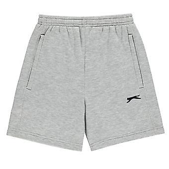 Slazenger Kids Fleece Short Shorts Bottoms Junior Pants Trousers
