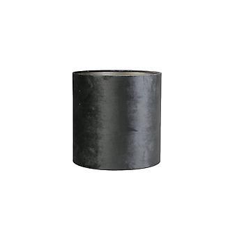 Luz y vida cilindro sombra 35x35x34cm grafito de zinc