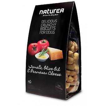 Naturea keksit tomaatti, oliiviöljy & juusto (koirat, kohtelee, keksit, allergiatestattu)