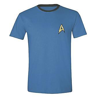 Men's Star Trek Scientist Uniform Puku T-paita