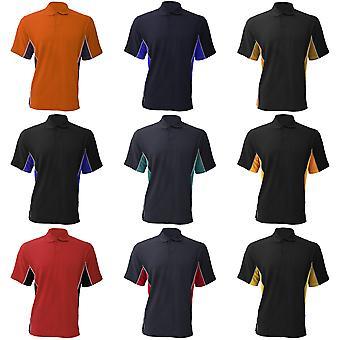Gamegear® Mens Track Pique Short Sleeve Polo Shirt Top