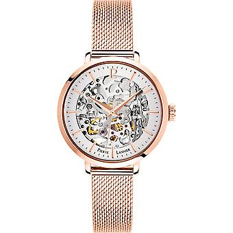 Horloge van Pierre Lannier B 313, 928 - automatische mesh Milanese vrouw