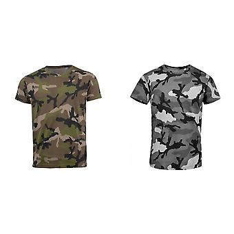 SOLS Mens Camo Short Sleeve T-Shirt