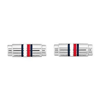 Tommy Hilfiger 2790214 Stainless Steel Silver Tone Cufflinks
