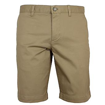 Lacoste men's beige chino shorts