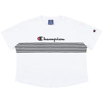 Champion camiseta femenina cuello redondo Croptop 113098