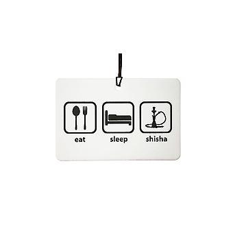 Eten slaap Shisha auto luchtverfrisser