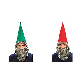 Bristol Novelty Mens Hat And Beard Accessory