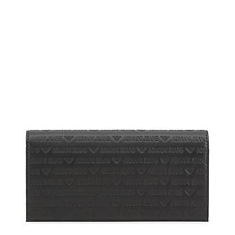 Armani Jeans Original Unisex All Year Wallet - Black Color 34389