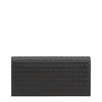Armani Jeans Orijinal Unisex Tüm Yıl Cüzdan - Siyah Renk 34389