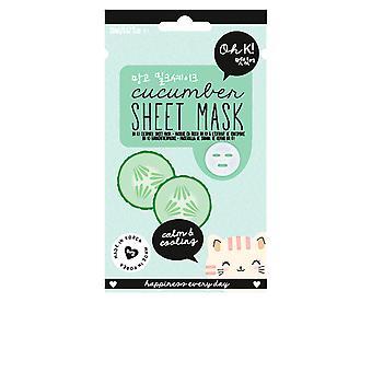 Oh K! Sheet Face Mask Cucumber Calm & Cooling 20 Ml For Women