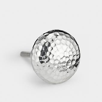 Aluminium Door Knob - Silver - Round