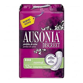 Ausonia Urine Loss Compresses Discreet Normal 12 Units