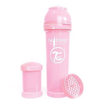 Twistshake Baby bottle 330ml Pastel Pink