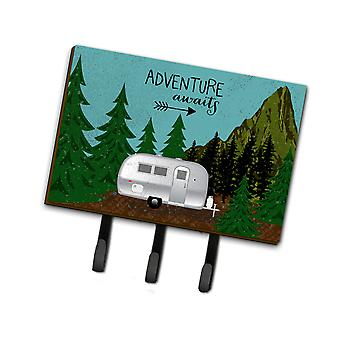Airstream Camper Adventure Awaits Leash or Key Holder