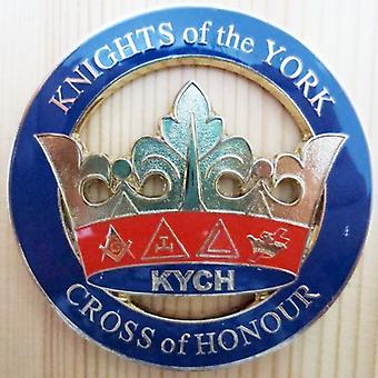 Knights of the york cross of honour kych car emblem