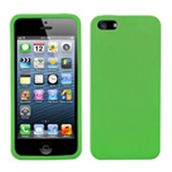 Asmyna Solid Skin Slim Case pour Apple iPhone 5s/5 - Dr Green