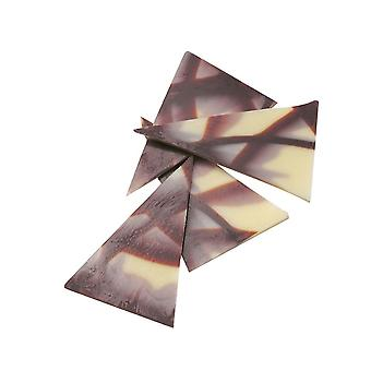 Culpitt White And Plain Chocolate Triangles