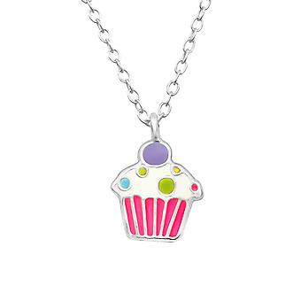 Cupcake - 925 Sterling Silver Necklaces - W28731x