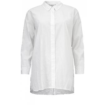 Masai Clothing Indissa White Crinkle Blouse