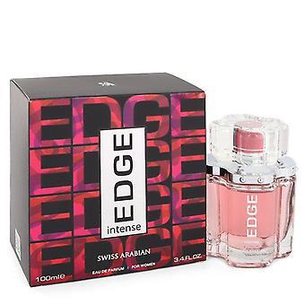 Edge Intense Eau De Parfum Spray By Swiss Arabian 3.4 oz Eau De Parfum Spray