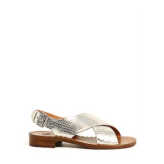 Church's Dx00069agqf0ayg Women's Silver Leather Sandals