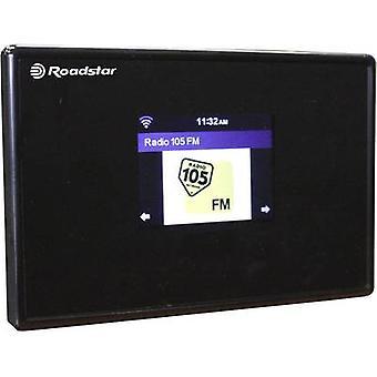 Roadstar internetes rádióadapter Internet AUX, Bluetooth, Wi-Fi Black