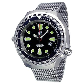 Tauchmeister T0275MIL Ronda GMT XXL diving watch 1000m