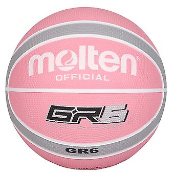 Molten GR7 Indoor Outdoor Rubber Basketball Ball Rose